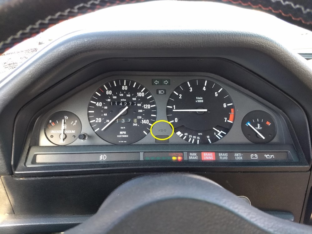 E30 Odometer Gear Replacement -